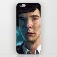 johnlock iPhone & iPod Skins featuring Goodbye John by Alexandra Haynes