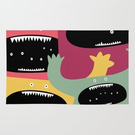 Monster medley. Rug