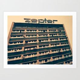 Zep Art Print