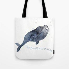 Bowlhead Whale Tote Bag