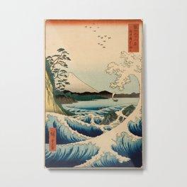 Ando Hiroshige Metal Print