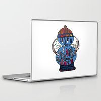 tank girl Laptop & iPad Skins featuring tank of the world by JBLITTLEMONSTERS