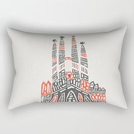 Sagrada Familia Rectangular Pillow