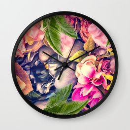 Flower dream Wall Clock