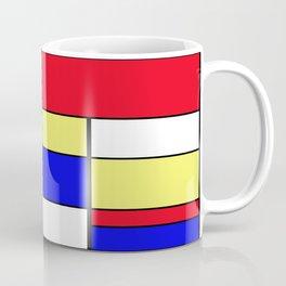 Mondrian #412 Coffee Mug