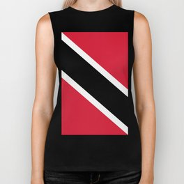 Trinidad And Tobago Flag Biker Tank