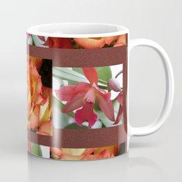Roses & Orchids Coffee Mug