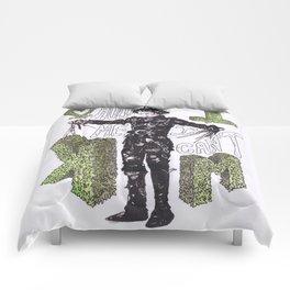 """Hold me"", ""I can't"".  -Edward Scissorhands Comforters"