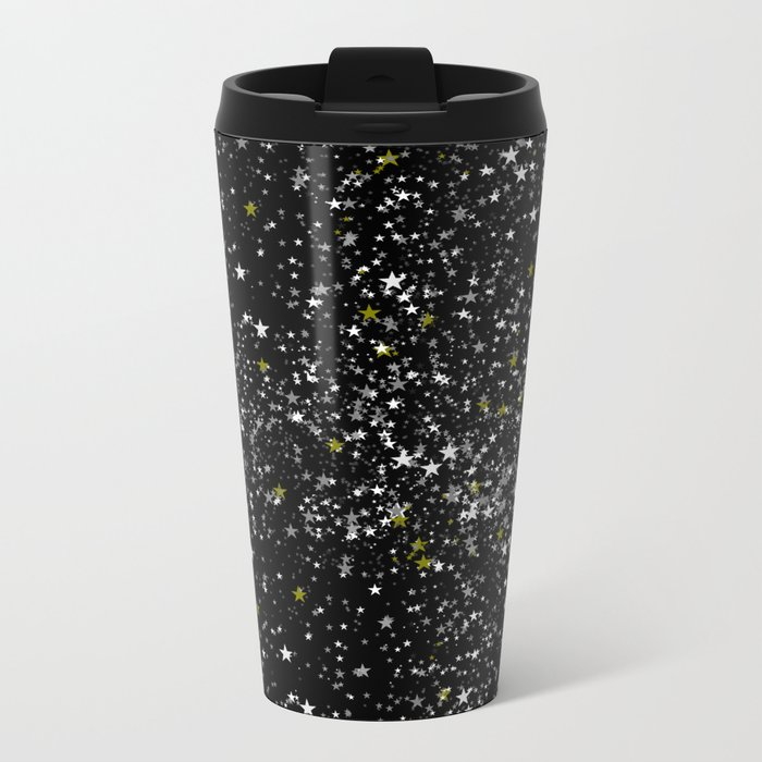 Stars 1 Metal Travel Mug