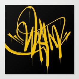 Graffiti Tag Canvas Print