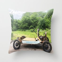 1929 Model A Car Photo Throw Pillow