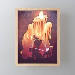 The Candlelight Framed Mini Art Print