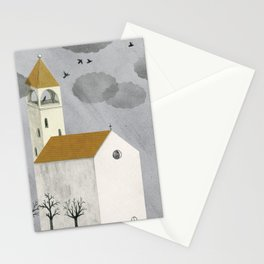 Little Church Stationery Cards