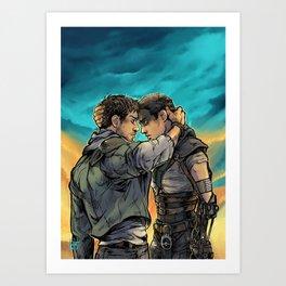 Say Goodbye Art Print