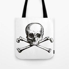 Skull and Crossbones | Jolly Roger Tote Bag