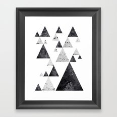 Pyramid Valley Framed Art Print
