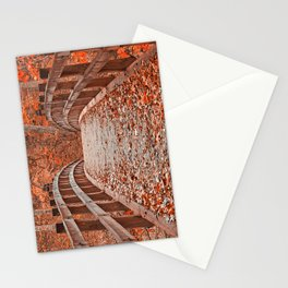 Ruby Red Bridge Stationery Cards
