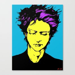 Colored Face Canvas Print