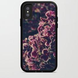 hydrangea - deep purple iPhone Case