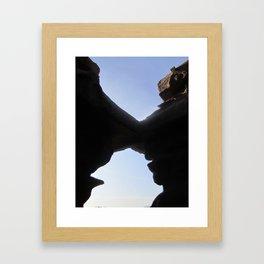 Rock'in affair Framed Art Print
