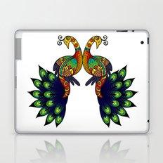 Coy peacock Laptop & iPad Skin