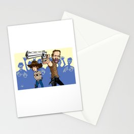 The Walking Dead Series - Rick & Carl Stationery Cards