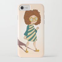 ginger iPhone & iPod Cases featuring Ginger by Zeynep Aktaş