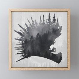 MTB Punk Framed Mini Art Print