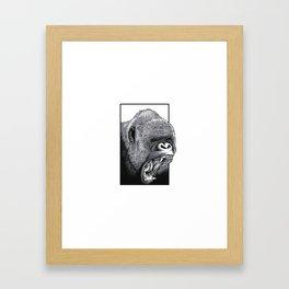 Harambe Framed Art Print