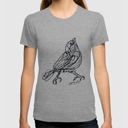 Chin Up Little Buttercup Drawing Pollock Style T-shirt