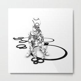 Bubble Boy Metal Print