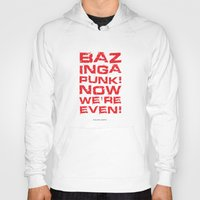 bazinga Hoodies featuring Bazinga! by Cloz000