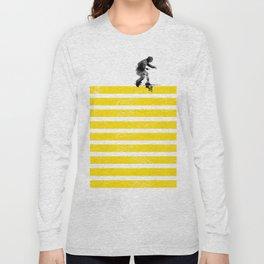 Slide on stripes Long Sleeve T-shirt