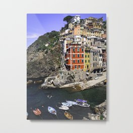 Bucket list view Metal Print