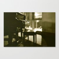 piano Canvas Prints featuring Piano by Chris Klemens