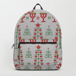 Christmas  abstract Backpack