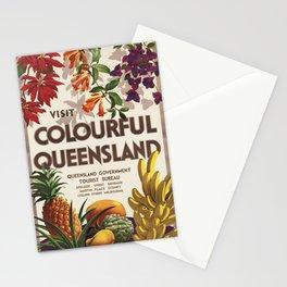 Vintage poster - Queensland Stationery Cards