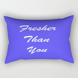 Fresher Thank You : Periwinkle Rectangular Pillow