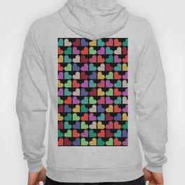 Colorful Love Pattern VI Hoody