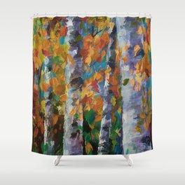 Birch trees - 1 Shower Curtain