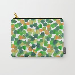 watercolor pointillism Carry-All Pouch