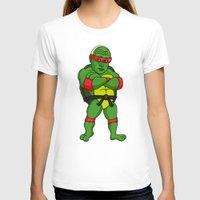 ninja turtle T-shirts featuring Teenage Putin Ninja Turtle by Chris Piascik