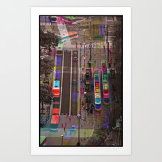 Sequential Serie : The Center Art Print