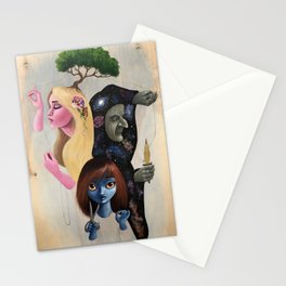 Weavers of Fate Stationery Cards