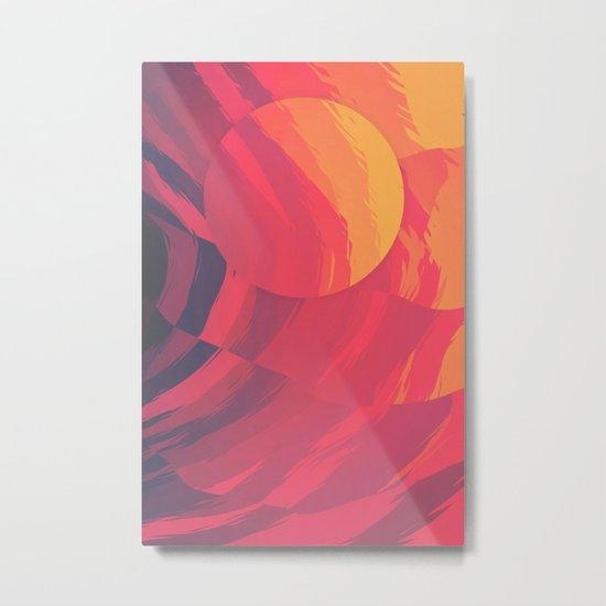 Unbearable Heat Metal Print