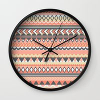 bohemian Wall Clocks featuring Bohemian  by emain