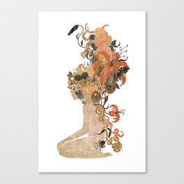 Freya's Hair (Gold) Canvas Print