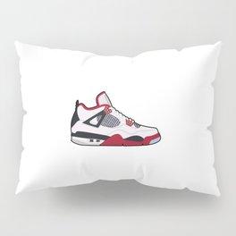 Jordan 4 Retro OG Firered Pillow Sham