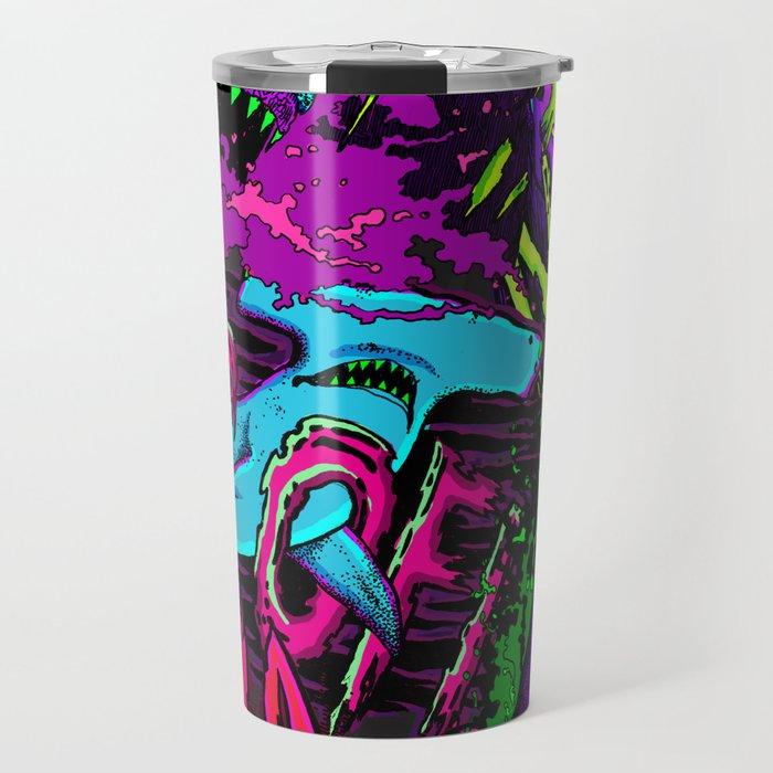 If sharks could talk Travel Mug
