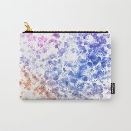 Colorful Watercolor Spots Carry-All Pouch